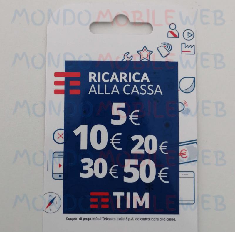 Photo of TIM: ricarica da 5 euro ancora disponibile nei supermercati