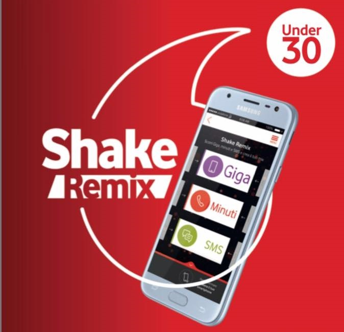Photo of Vodafone Shake Remix Unlimited: gratis 10 Giga Extra fino al 12 Maggio 2019
