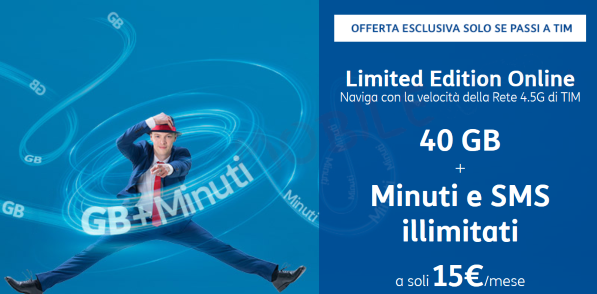 Tim Limited Edition OnLine 40