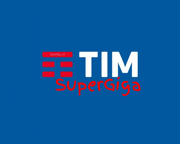 Tim SuperGiga Internet