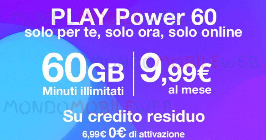 Play Power 60