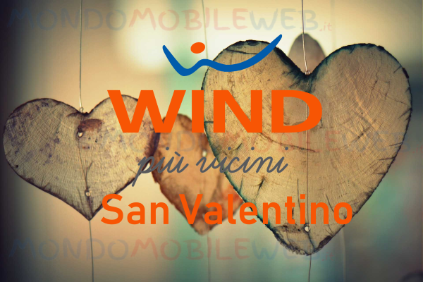 Photo of Wind 70 GB San Valentino Edition: 70 Giga per te e 70 Giga da regalare