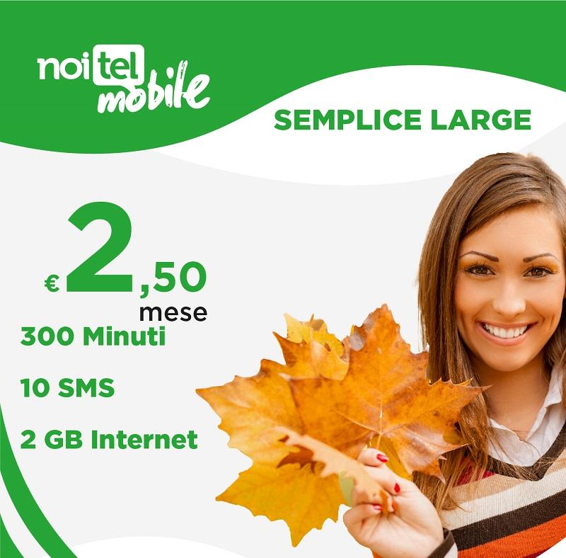 Photo of NoiTel Mobile: in attesa del 4G Vodafone continuano le offerte da 2,50 euro al mese su rete Tim 3G