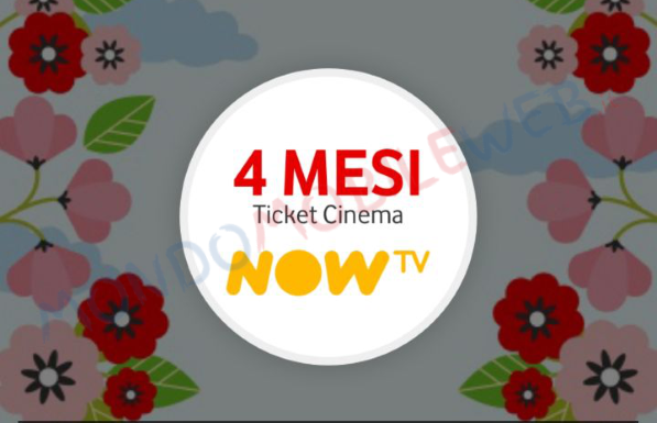 Photo of Vodafone Happy Friday: i 4 mesi gratis di Ticket Cinema NOW TV attivabili fino al 15 Aprile 2019