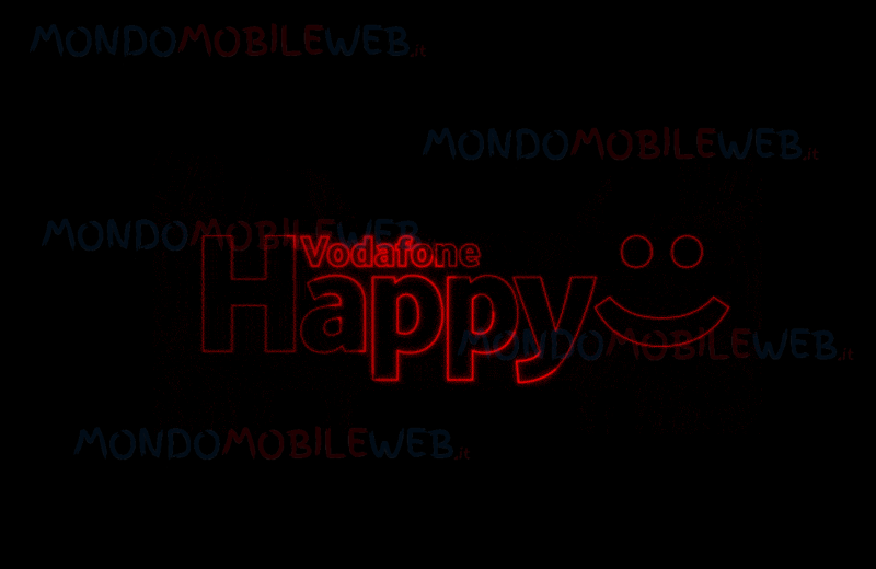 Vodafone Happy Black