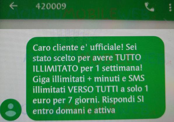 Photo of Vodafone Tutto Illimitato: anche adesso proposta a 1 euro ad alcuni già clienti