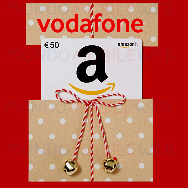 Photo of Vodafone regala 50 euro di buono Amazon attivando online Internet Unlimited con Vodafone Ready