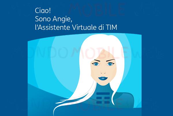 Photo of Chatta con Angie, l'assistente virtuale TIM per risolvere problemi su rete fissa e TIMVISION