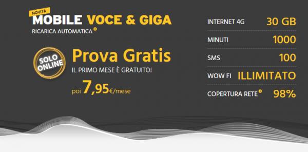 Mobile Voce e Giga