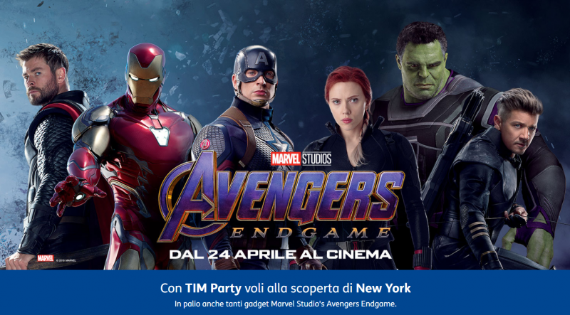 Photo of TIM Party: quiz sugli Avengers per vincere gadget a tema e un viaggio a New York