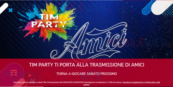 Tim Party Amici