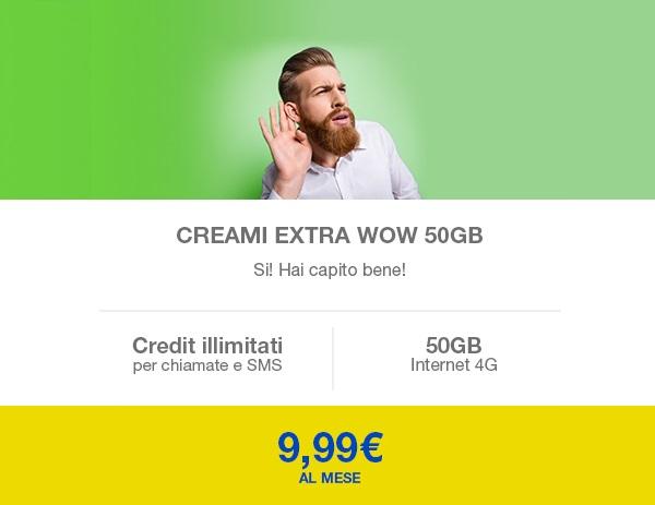 Creami Extra WOW 50GB