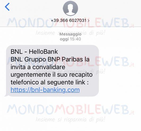 Phishing BNL