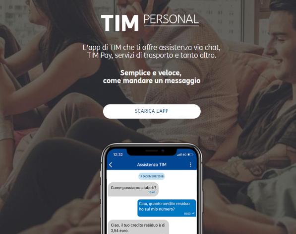 Photo of TIM chiude a metà Giugno 2019 il servizio chat tra utenti di TIMpersonal