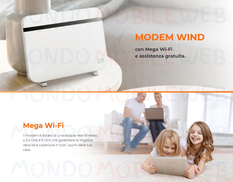 Wind modem 100 Giga