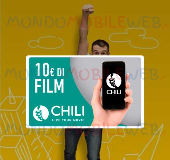 Photo of Wind: 10 euro gratis per vedere film su Chili (WinDay del 20 Maggio 2019)