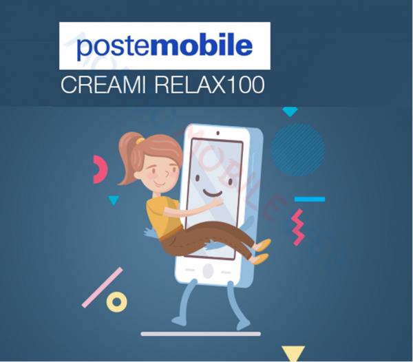 Photo of PosteMobile Creami Relax 100: 80GB a 10 euro, poi 100GB a 8 euro. Continua fino al 14 Settembre 2019