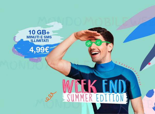 Photo of PosteMobile Creami WOW Weekend Summer Edition: offerta a meno di 5 euro al mese con 10 Giga