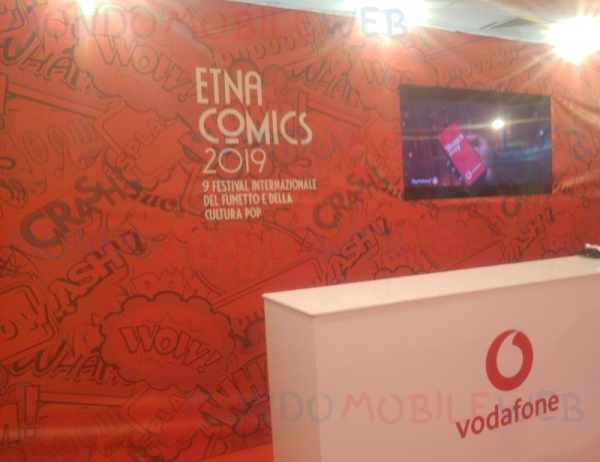 Photo of Vodafone partner ufficiale di Etna Comics 2019: 100 Giga in regalo e numerosi premi in palio