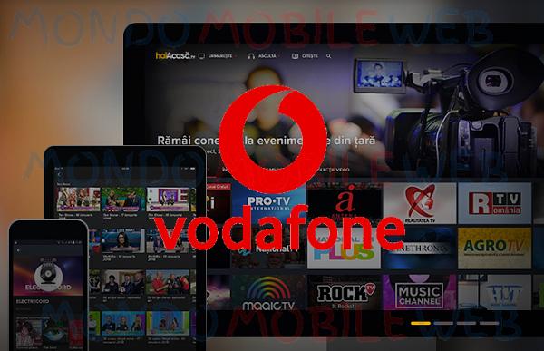 Photo of Vodafone: servizio streaming haiAcasa.TV in promo con le offerte C'All Global e Super
