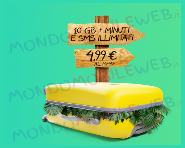 Photo of Creami Wow Weekend di PosteMobile: 10 Giga, minuti e sms illimitati a 4,99 euro al mese per i nuovi