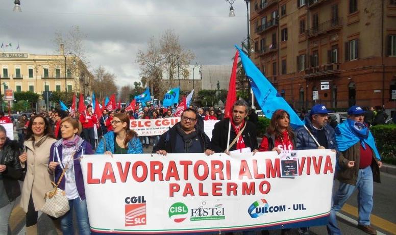 Photo of Accordo al Ministero e CIGS per i lavoratori Almaviva di Palermo. Sindacati: solo una misura tampone