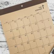 Calendario Specchio