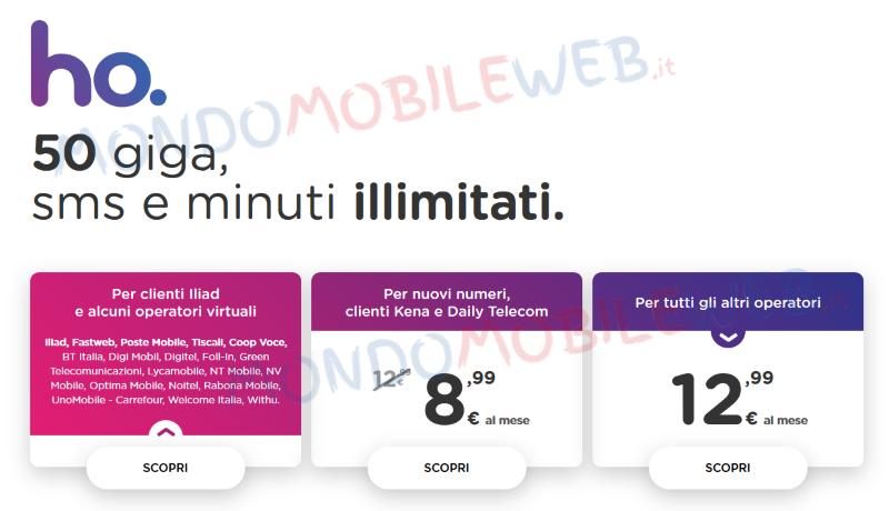 ho. mobile 1,2 milioni