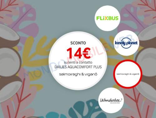 Vodafone Happy Friday Flixbus Lonely Planet Salmoiraghi & Viganò Wonderbox
