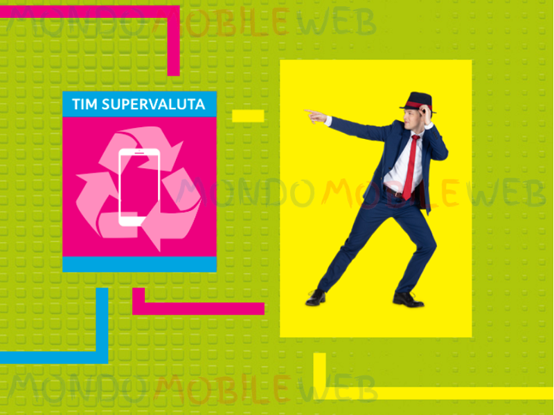 TIM Supervaluta smartphone rottamazione usato