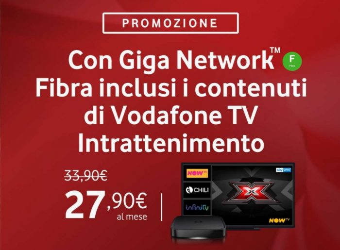 Vodafone TV Intrattenimento