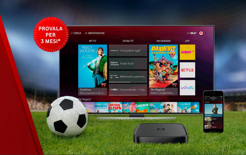 Vodafone TV sconti promo