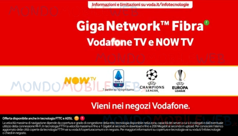 Vodafone TV Now TV