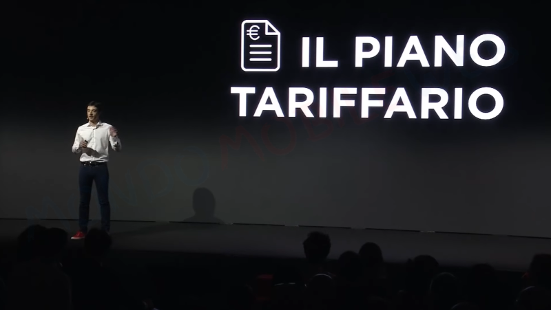 piano tariffario a consumo