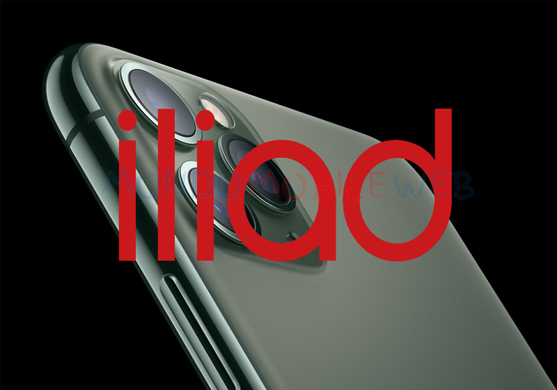 Iliad smartphone Apple iPhone