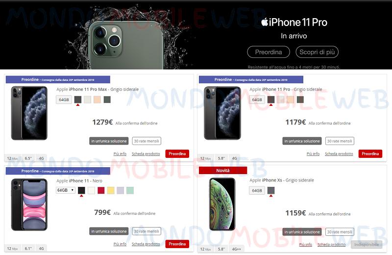 iliad rate Apple iPhone 11