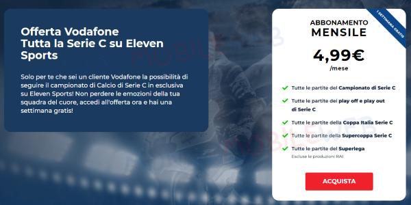 Eleven Sports Vodafone