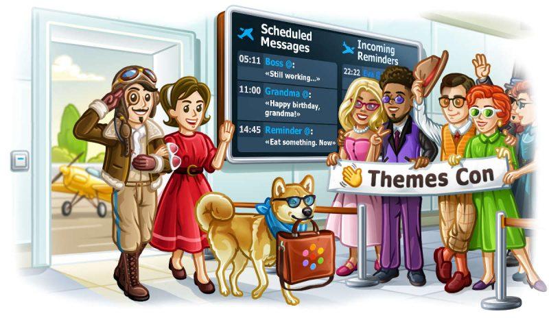 Photo of Aggiornamento Telegram: nuove opzioni per la privacy, condivisione di temi e messaggi programmati