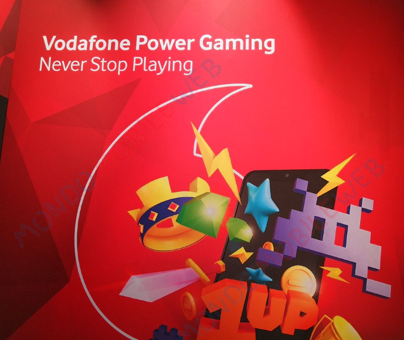 Vodafone Power Gaming Lucca Comics