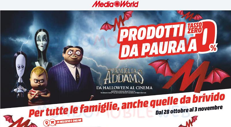 MediaWorld Halloween promo