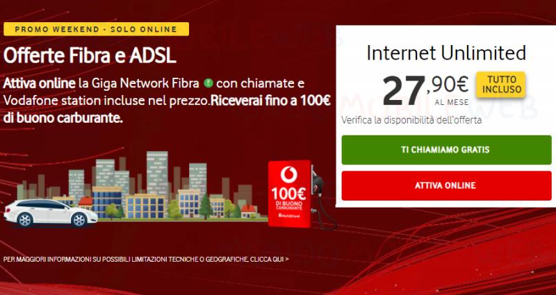 Vodafone carburante