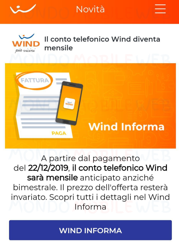Wind notifica MyWind