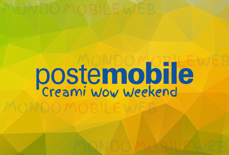 Photo of PosteMobile Creami WOW Weekend: sms, minuti e 10 Giga a 4,99 euro al mese continua online