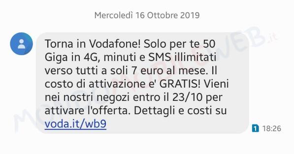 Torna in Vodafone