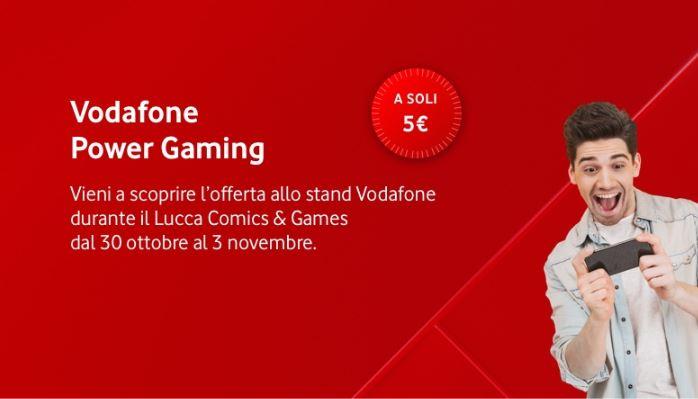 Vodafone Power Gaming Lucca Comics