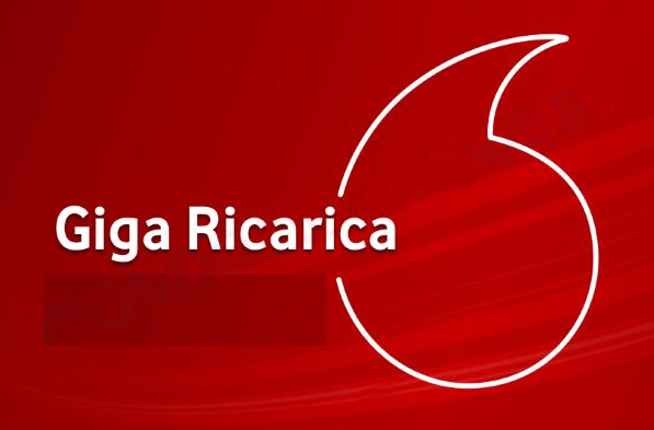 Giga Ricarica 10 Vodafone