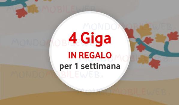 Vodafone Happy 4 Giga