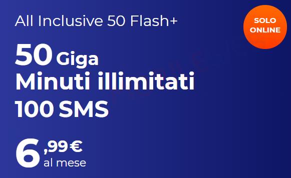All Inclusive 50 Flash Più