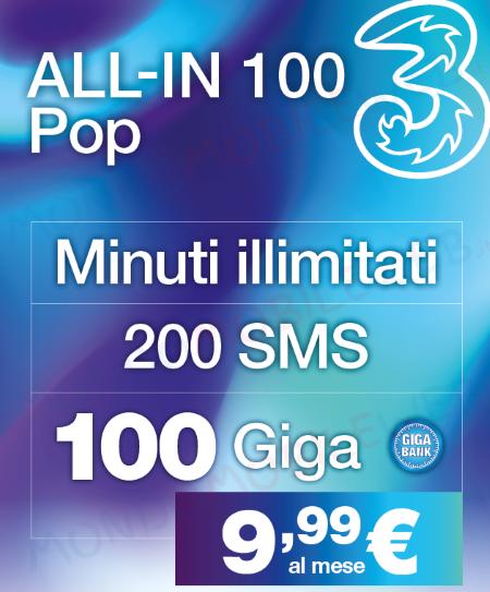 3 All-In 100 Pop 100 Giga