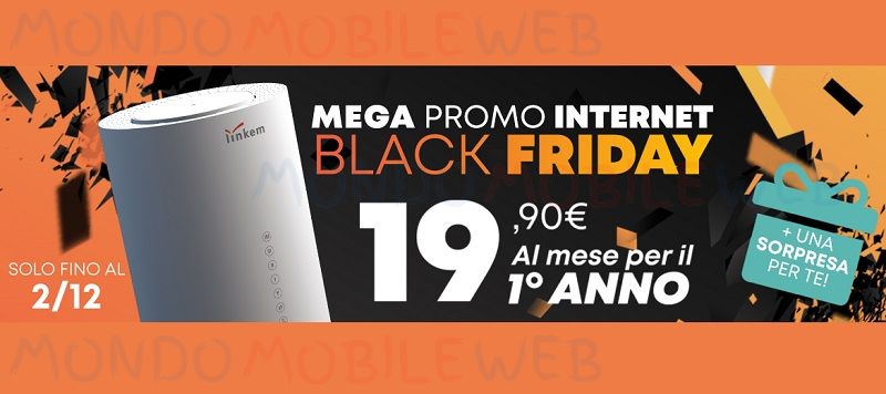 Linkem Promo Black Friday